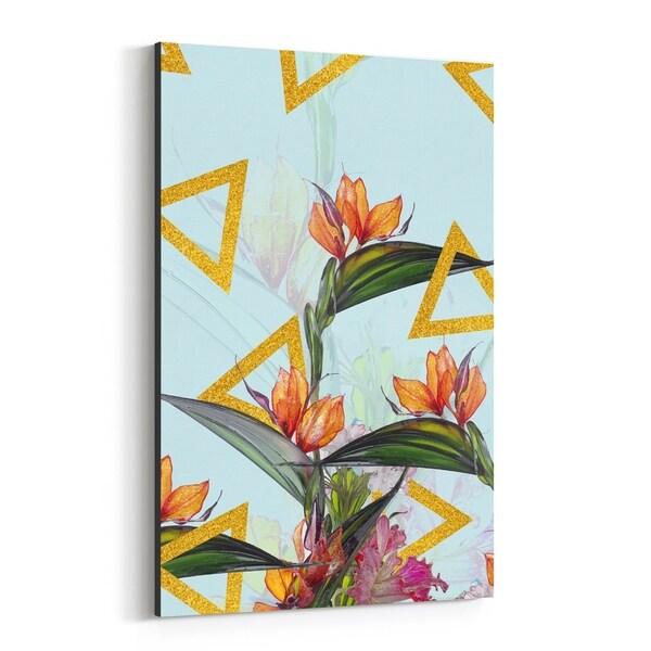 Noir Gallery Floral Botanical Patterns Canvas Wall Art Print