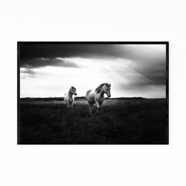 Noir Gallery Iceland Nature Photo Framed Art Print