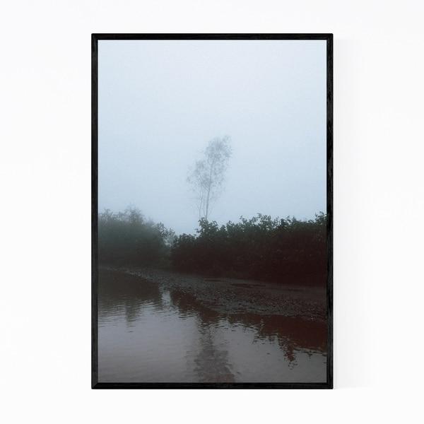 Noir Gallery Udaipur India Fog Photo Framed Art Print