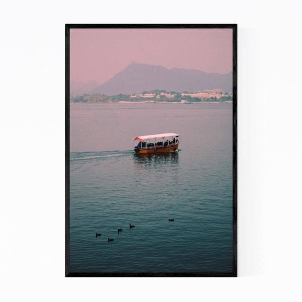 Noir Gallery Udaipur India Beach Nautical Photo Framed Art Print