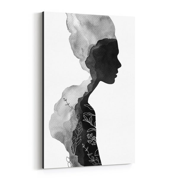 Noir Gallery Figurative Feminine Painting Canvas Wall Art Print