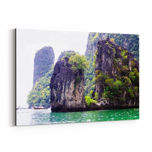 Noir Gallery Ko Lanta Thailand Beach Photo Canvas Wall Art Print