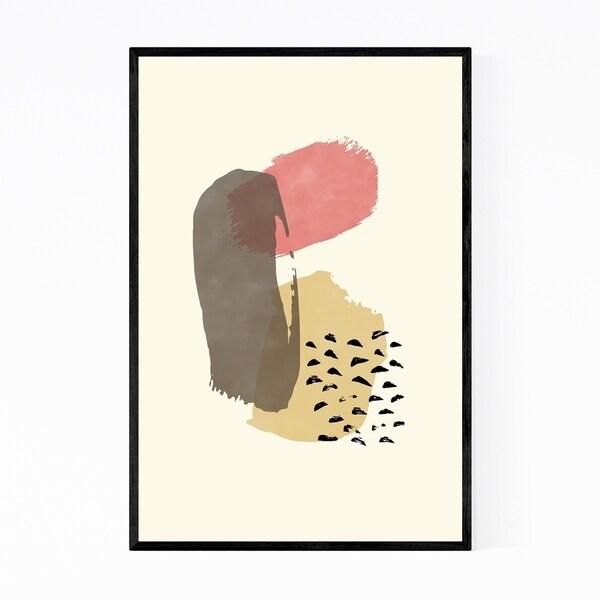 Noir Gallery Abstract Illustration Framed Art Print