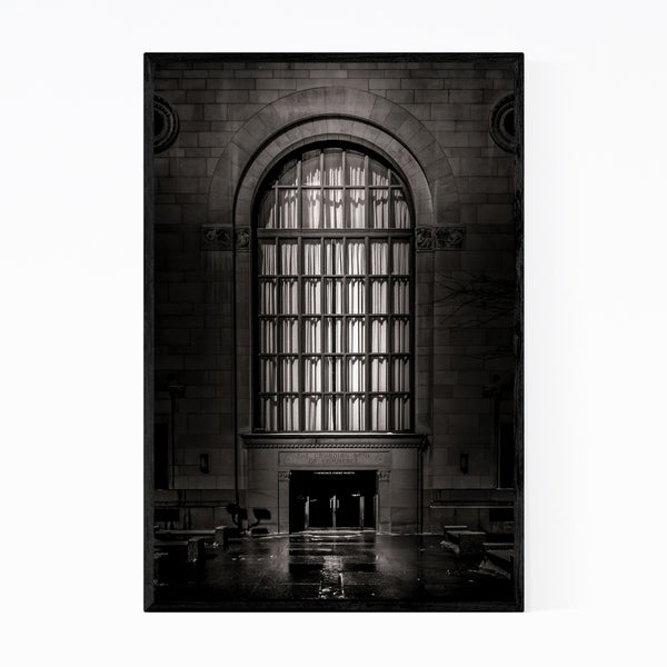 Noir Gallery Toronto Urban Architecture Photo Framed Art Print