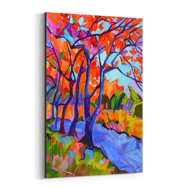 Noir Gallery Autumn Nature Painting Canvas Wall Art Print