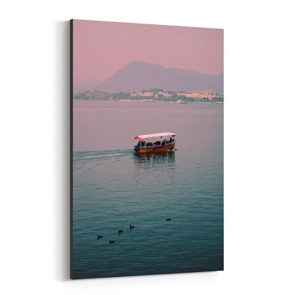 Noir Gallery Udaipur India Beach Nautical Photo Canvas Wall Art Print