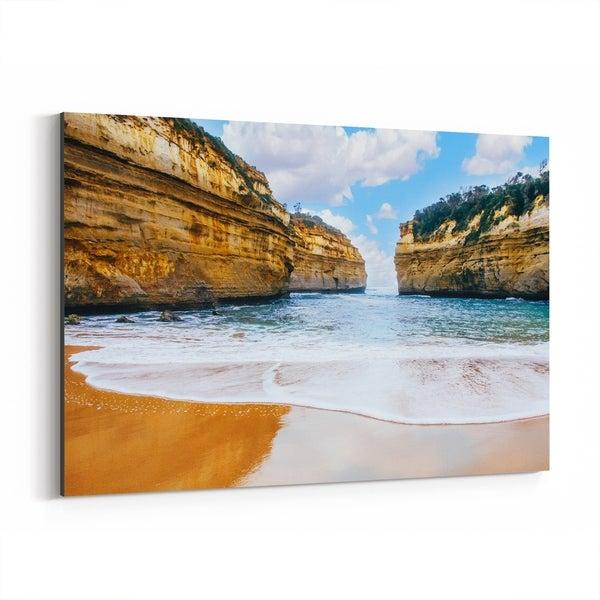 Noir Gallery Great Ocean Road Australia Beach Canvas Wall Art Print