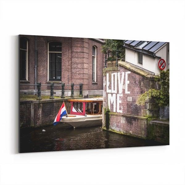 Noir Gallery Amsterdam Netherlands Graffiti Photo Canvas Wall Art Print