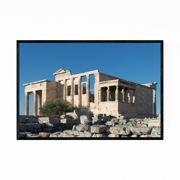 Noir Gallery Athens Greece Architecture Photo Framed Art Print