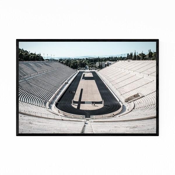 Noir Gallery Athens Greece Stadium Urban Photo Framed Art Print