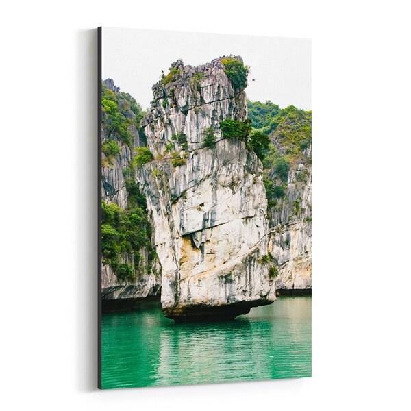 Noir Gallery Halong Bay Vietnam Beach Photo Canvas Wall Art Print