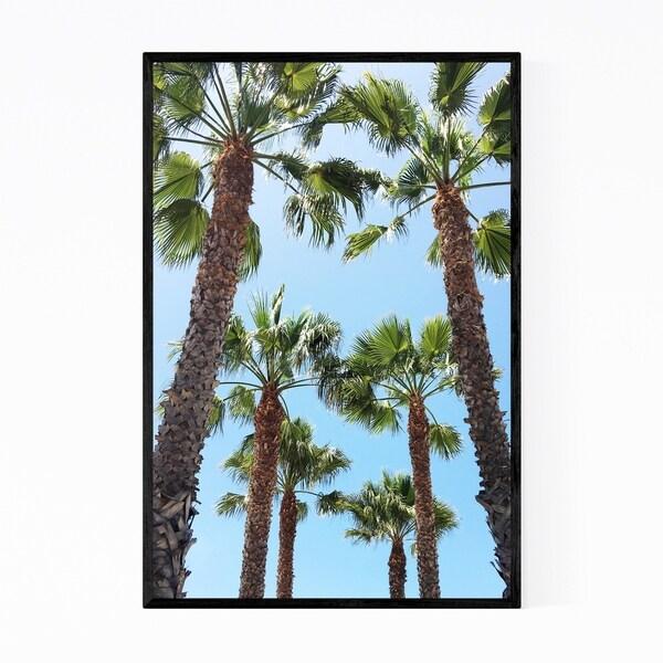 Noir Gallery Venice Beach California Beach Framed Art Print