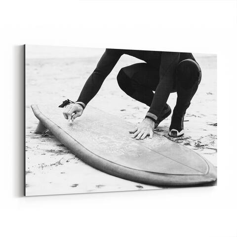 Noir Gallery Venice Beach California Beach Surfing Canvas Wall Art Print
