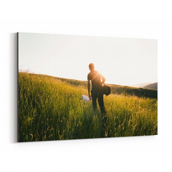Noir Gallery Udaipur India Nature Hiking Photo Canvas Wall Art Print
