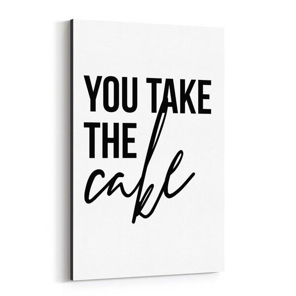 Noir Gallery Motivational Minimal Typography Canvas Wall Art Print