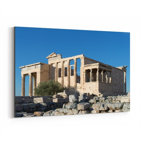 Noir Gallery Athens Greece Architecture Photo Canvas Wall Art Print