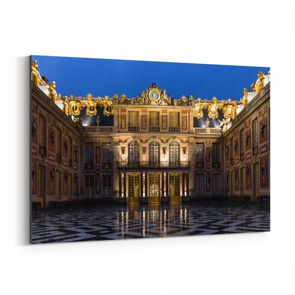 Noir Gallery Versailles France Architecture Photo Canvas Wall Art Print