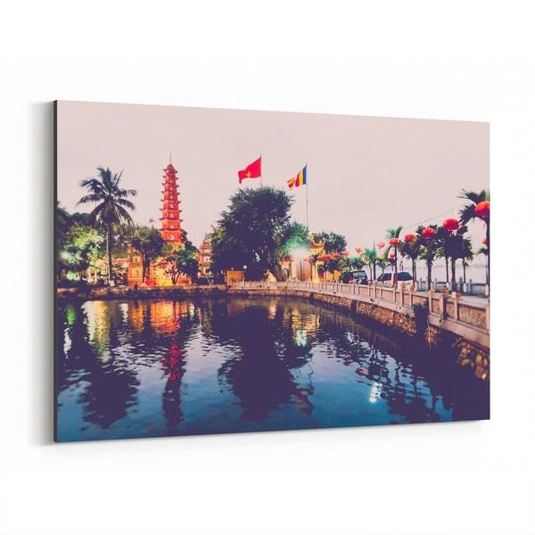 Noir Gallery Hanoi Vietnam Architecture Photo Canvas Wall Art Print