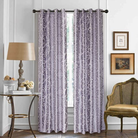 Window Semi-Blackout Curtain / Drape Panel, Las Vegas