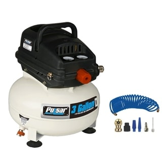 Pulsar 3 Gallon Self-Lubricating Pancake Air Compressor