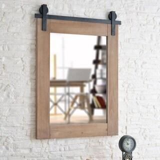 """Slots Modern Farmhouse Wall Mirror - 40"""" x 30"""""""