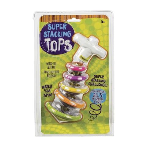 Toysmith Super Stacking Tops Kit