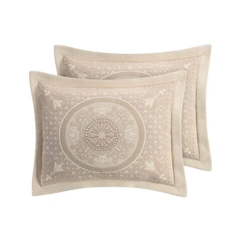 Basset Matelasse Pillow Sham