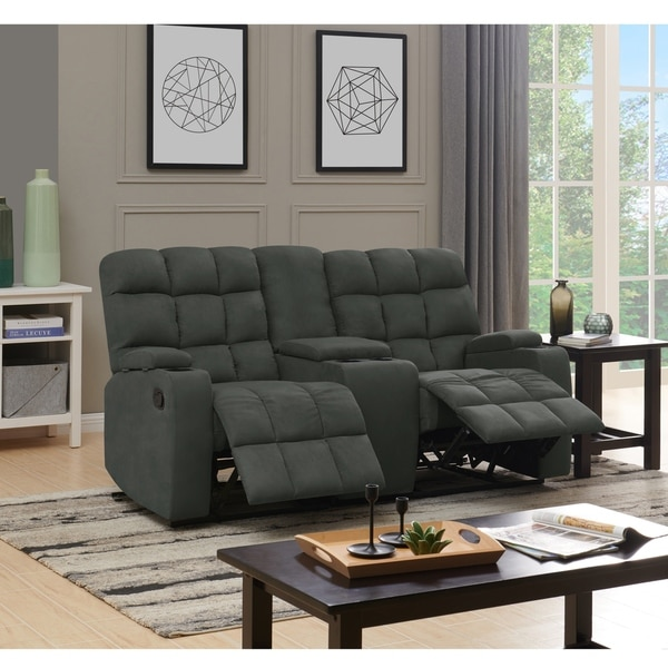 Copper Grove Bielefeld 2 Seat Recliner Sofa with Power Storage Console. Opens flyout.
