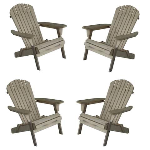 Oceanic Adirondack Chair, Set of 4