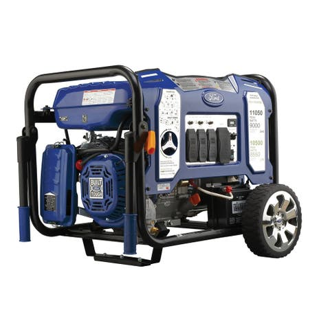 Ford 11,050W Dual Fuel Portable Generator with Switch & Go Technology - N/A