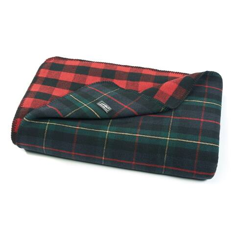 Eddie Bauer Ridgeline Lodge Green Blanket