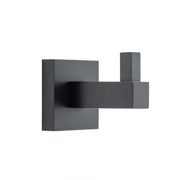 Italia TR6304 Trieste Matte Black Single Robe Hook