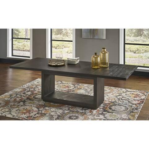 Carbon Loft Barron Rectangular Dining Table in Basalt Grey