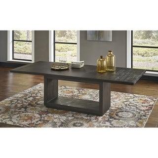 Link to Carbon Loft Barron Rectangular Dining Table in Basalt Grey Similar Items in Dining Room & Bar Furniture