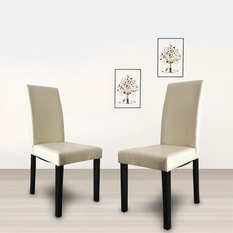 """Maypex 2 Pack Upholstered Dining Chair - 39"""""""