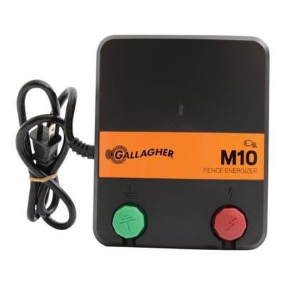 Gallagher M10 110 volt Electric Fence Energizer 2 mi. Black/Orange