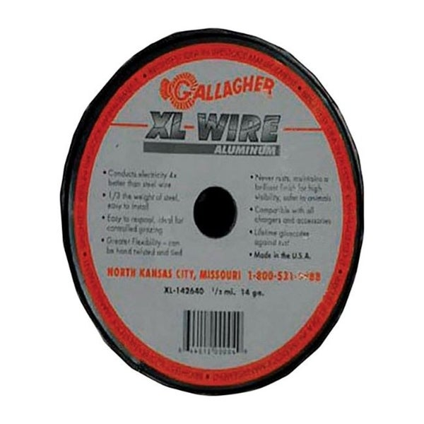 Gallagher Electric Electric Fence Wire 1/2 mi. Silver