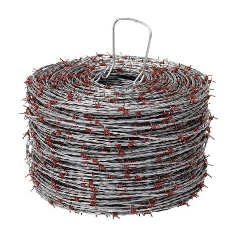 Red Brand 1320 ft. L 15.5 Ga. 4-point Galvanized Steel Barbed Wire