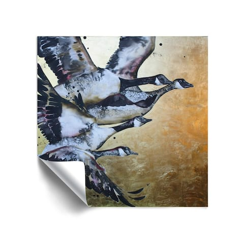 """""""Canada Geese"""" Removable Wall Art Mural"""