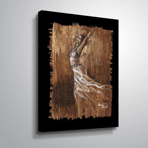 """""""Graceful Motion IV"""" Gallery Wrapped Canvas"""