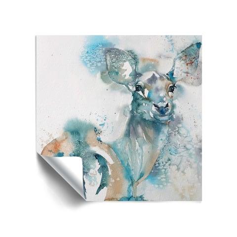 """""""Doe a Deer"""" Removable Wall Art Mural"""