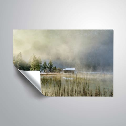 """""""First touch of snow"""" Removable Wall Art Mural"""