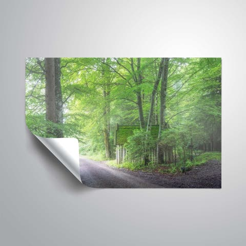 """""""Frenzy green"""" Removable Wall Art Mural"""