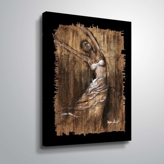 """Graceful Motion II"" Gallery Wrapped Canvas"