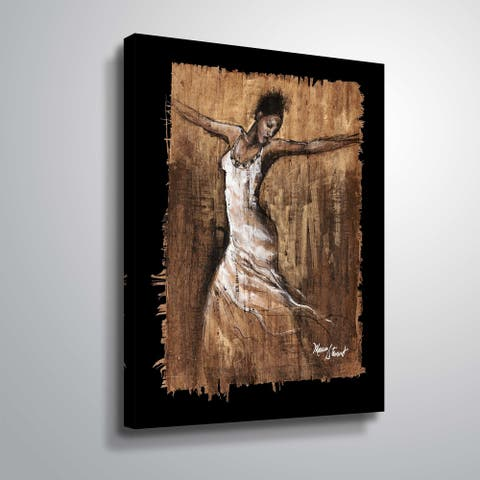 """""""Graceful Motion I"""" Gallery Wrapped Canvas"""