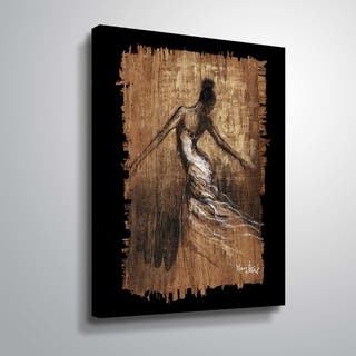 """Graceful Motion III"" Gallery Wrapped Canvas"