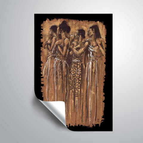 """Sisters in spirit"" Removable Wall Art Mural"