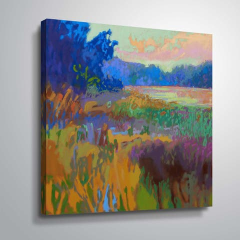 """""""Pastoral XV"""" Gallery Wrapped Canvas"""