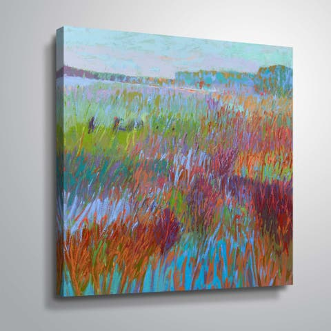"""""""Color Field no. 71"""" Gallery Wrapped Canvas"""