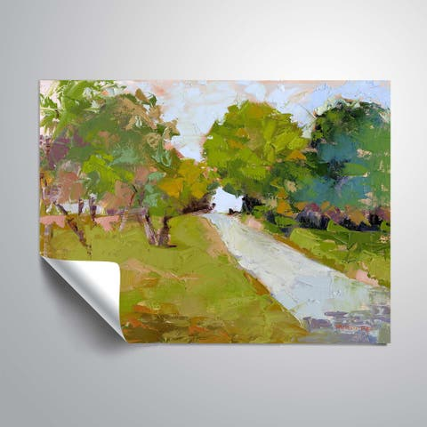 """"""" Quiet Path"""" Removable Wall Art Mural"""